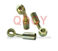 zinc plated hollow bolt and nuts