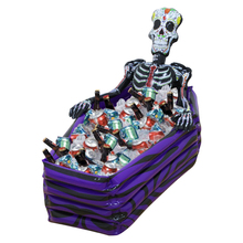 Inflatable Skull Ice Cooler Party Toys for Kids