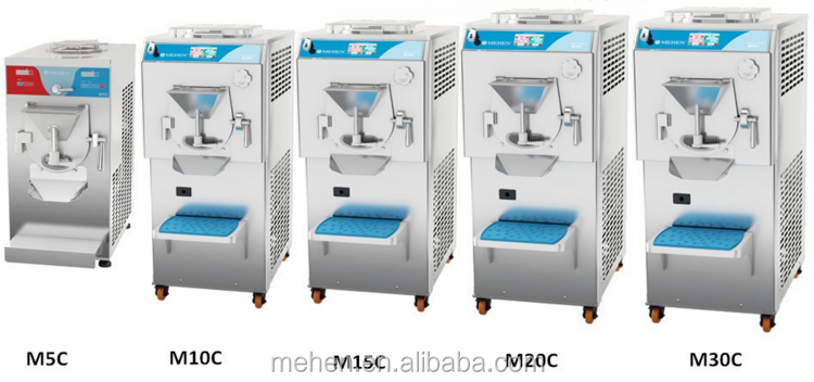 MEHEN Best quality multifuntional freezing hard icecream machine with pasteurizer