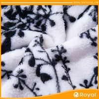 High Quality China Manufacturer Heavyweight Microfiber Fleece Fabric For Blanket