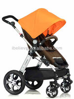 2016 high quality sliding baby carriage