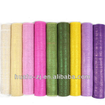 2017 China Popular floral mesh wrap Packaging Material