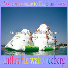 Water iceberg/inflatable water climbing wall