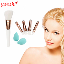 yaeshii best quality of low price cosmetics make up tools single white makeup <strong>brush</strong>