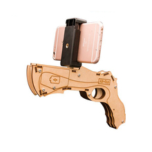 Newest Bluetooth AR Gun for the mobile phone Wood material ar gun accessories
