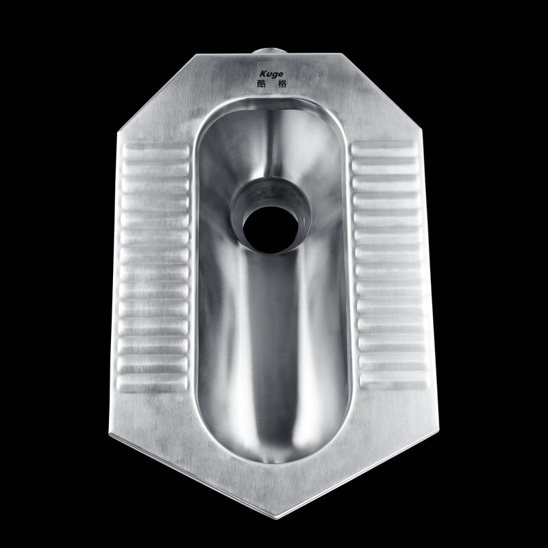 CE Approved Stainless Steel Washdown Squatting Pan Toilet