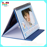 Direct Factory 2016 desk calendar printing good quality cheap price
