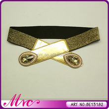Hot-Selling Beautiful Unique Design 2012 Fashion Women Elastic Belt