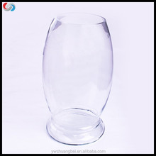 Beautiful Clear Dinosaur Egg Shaped Types Of Size Glass Fish Tank &Hydroponic Vase