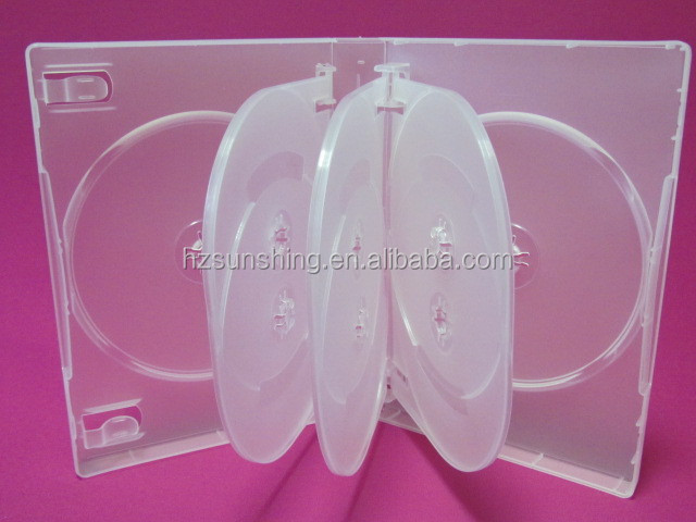 new products plastic color handle dvd case
