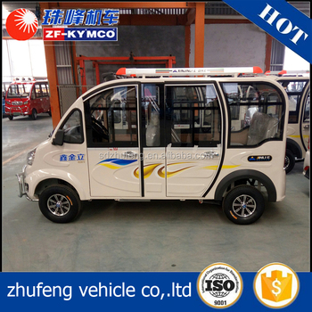 electric bus/van for 8 person