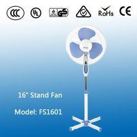 Happy New Year 2016 Full 12V Copper Dc Motor Pedestal 16'' Stand Fan