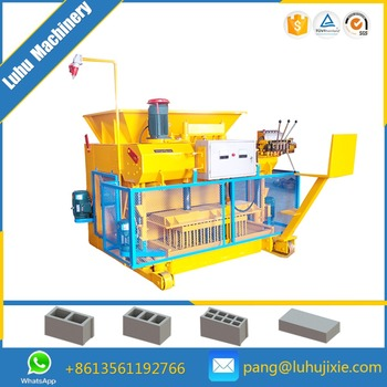 QMY6-25 productive moving type block machine