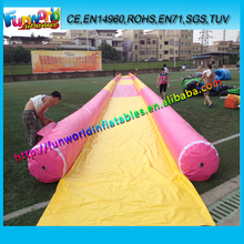 50m popular Cheap Inflatable Water Slide, Inflatable Yard Slip Slide For Personal