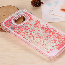 Holographic Quicksand Glitter Bling Liquid Phone Case for Samsung Galaxy S7