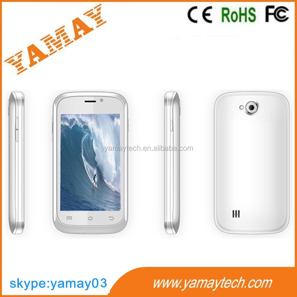 consumer electronics Original Dual Core MTK6572 Android 4.2 3.5 Inch smart phone dropship low price china mobile phone