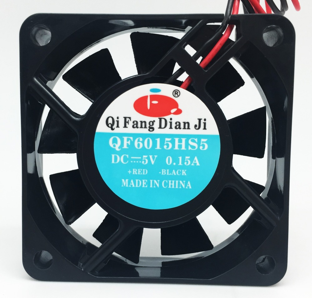 Qifang high speed 4500RPM 5v 12v 24v 60mm 60x60mm 6cm dc brushless cooling fan