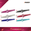 TW1287 hot sale double sides stainless steel beautyful girl eyebrow tweezers