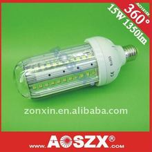 Factory direct wholesale! 15W LED Corn light bulbs 12V 24V1568LM-1771LM E27 e40 LED corn bulb Aluminous alloy+48hours test