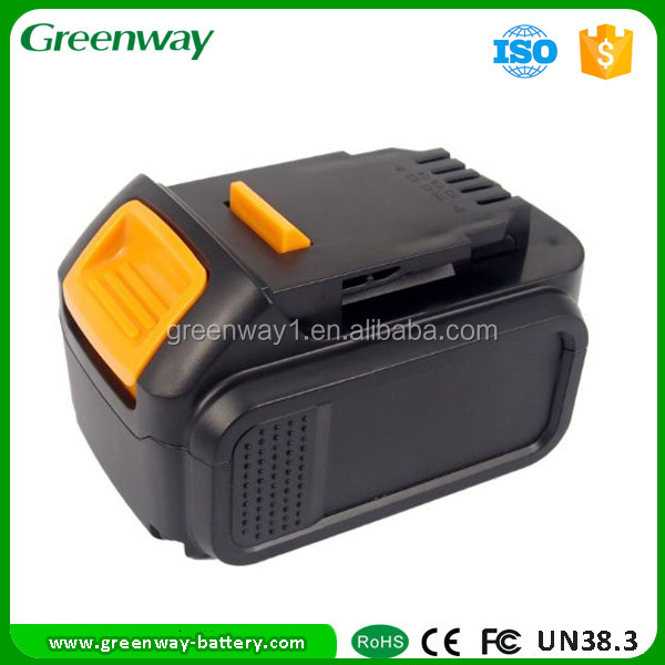 Power tool battery for Dewal t DCB140 replacement 3000 mAh 14.4V