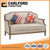 Wholesale Furniture Fabric Leisure Upholstered Sofa