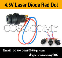 4.5V Laser Head Module Laser Diode Laser Red Dot