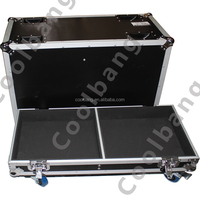 Penn-elcom CBE010 proX ATA aluminum flight case for two speakers