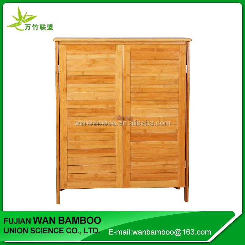 New Design Closed Bamboo Shoe Rack