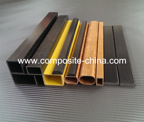 Round/Rectangle/Square Fiber Glass pipe extruded tubing