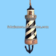 Ceramic Lighthouse Souvenirs Aeolian Bells