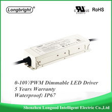 Waterproof 0-10V dimmable LED Driver led power supply Dimmable Constant Current Driver 150W 30-42V 3570mA for Outdoor Lighting