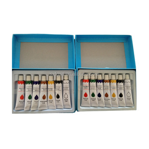 cheap price OEM logo 12ml non toxic bright colors acrylic paints hand drawn artist acrylic paint