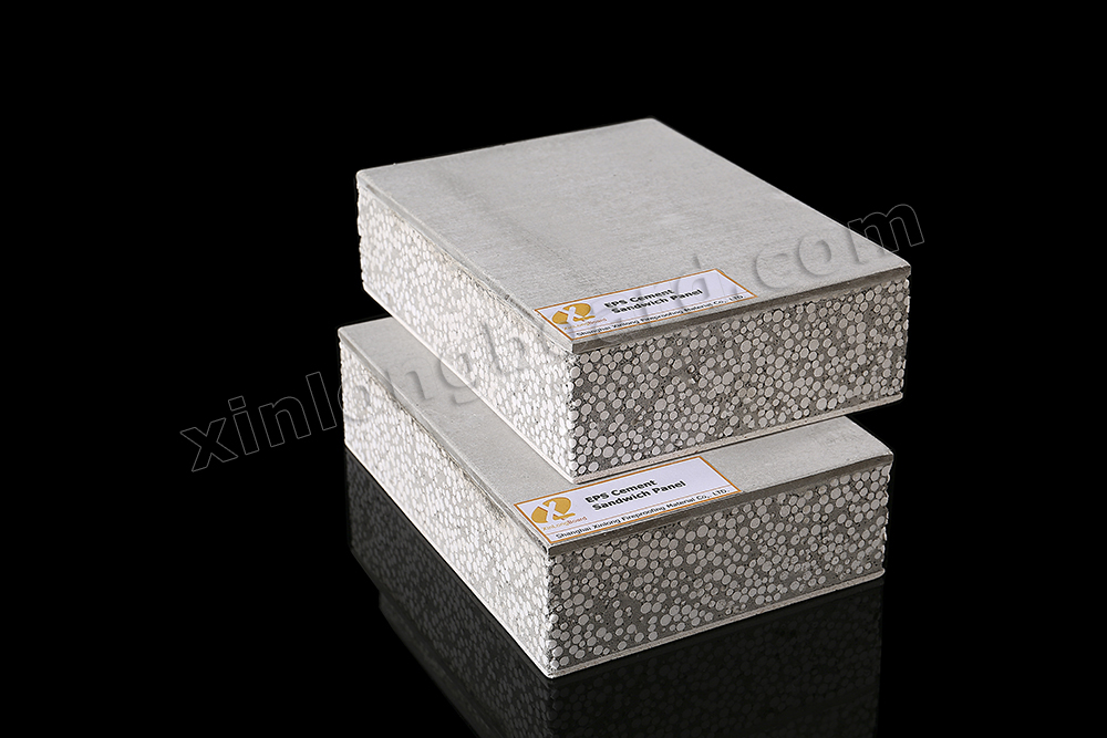 Light Weight Fireproof EPS Cement Sandwich Panel Suitable for Prefabricated House