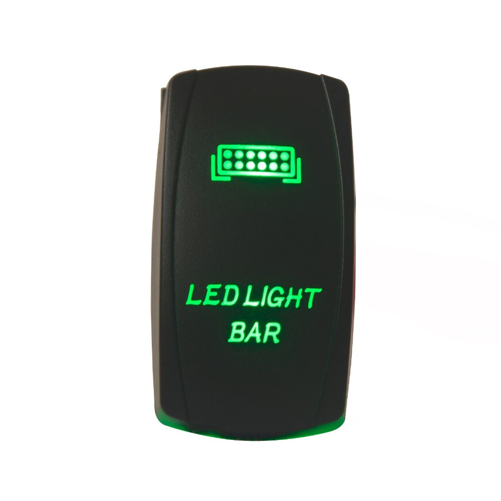 Led light bar 12v rocker switch IP68