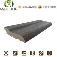 Mdf moulding light board skirting for inside decorative