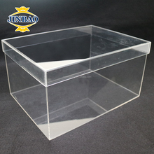 JINBAO factory custom clear acrylic/perspex /display /plexiglass shoe box