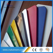 4mm PVDF aluminium composite panels, outdoor use wall cladding panel