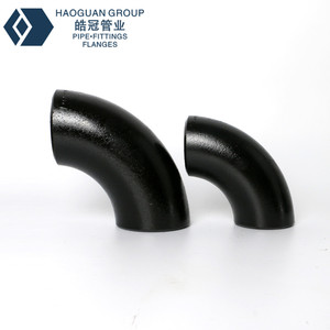 B16.9 Butt Weld Seamless Carbon Steel Elbow Astm A234 Wpb Pipe Fittings