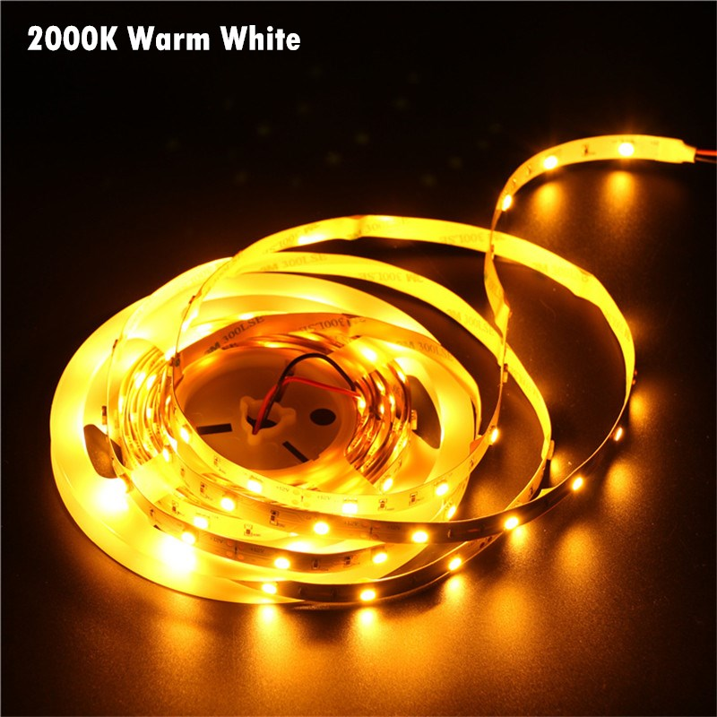 2000K Warm White PVC Lamp Body Material And Light Strips Item Type Non Waterproof Electrical Tape Led Strip