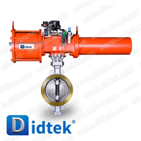 Didtek Manufactured Pneumatic Control Butterfly Valve