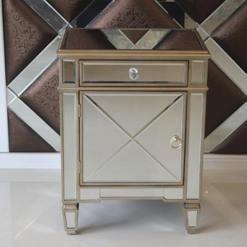 cabinet shabby chic cabinet mirrored bedside table buy