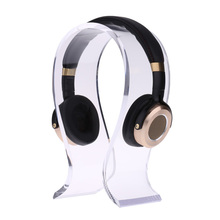 custom acrylic wholesale table top headphone display