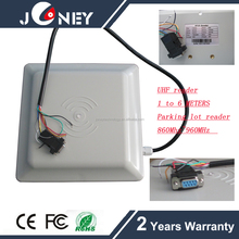Joneytech 6 meters range long distance uhf sensitive rfid access reader for gate access entry