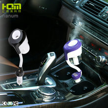 Nanum New Usb Car Charger 50Ml Aroma Diffuser Car Mist Air Humidifier
