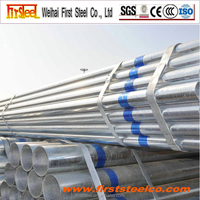 Alibaba China building materials threaded galvanized steel pipe 1 1/4 inch