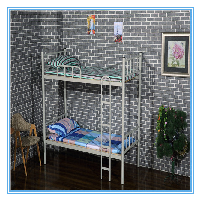 New design cheap bunk bed with double bed