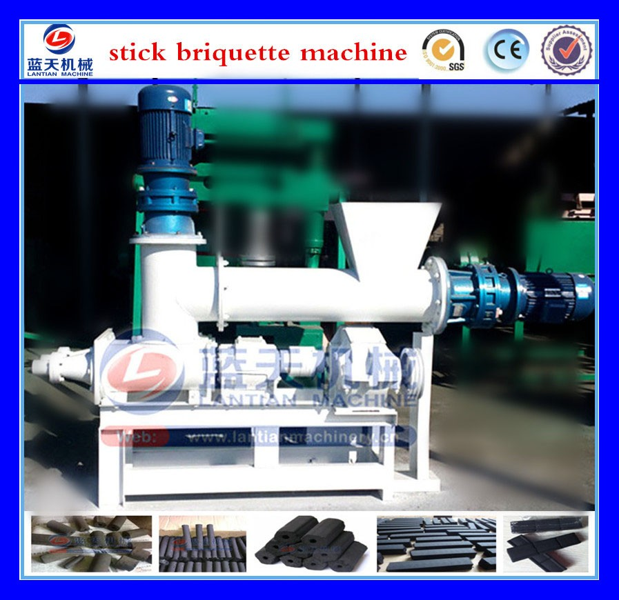 30 years Screw Type Binder Top Quality Coal Charcoal Briquette Machine/ Coal Charcoal Powder Making Machine Price