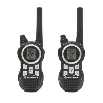 2 pcs one set MOTOROLA Talkabout interphone MR350R 35 mile range 22 channel Mini Walkie Talkie