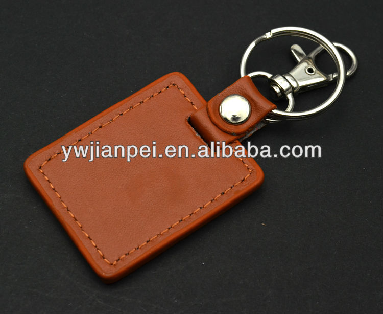 Fashion Giveaway Cow Leather Cord Keychain