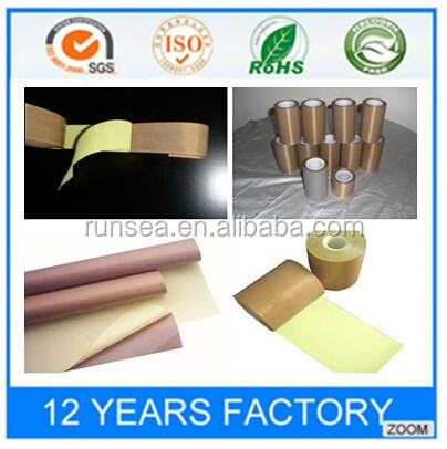 high temperature teflon fabric tape
